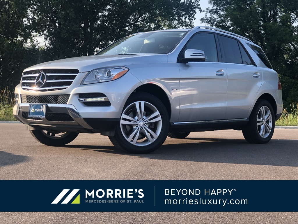 Pre-Owned 2012 Mercedes-Benz M-Class ML 350 With Navigation