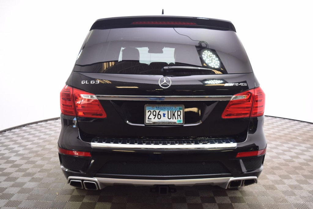 Certified Pre-Owned 2016 Mercedes-Benz GL 4MATIC® 4dr AMG® GL 63