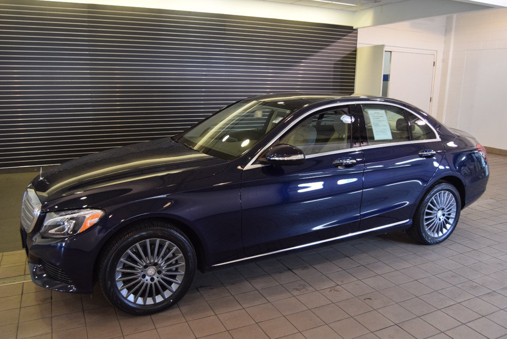 Certified Pre Owned 2015 Mercedes Benz C Class 4dr Sedan C 300 4MATIC