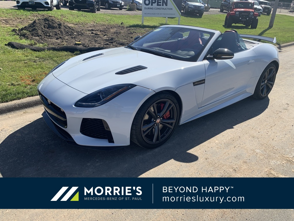 Pre-Owned 2017 Jaguar F-TYPE SVR