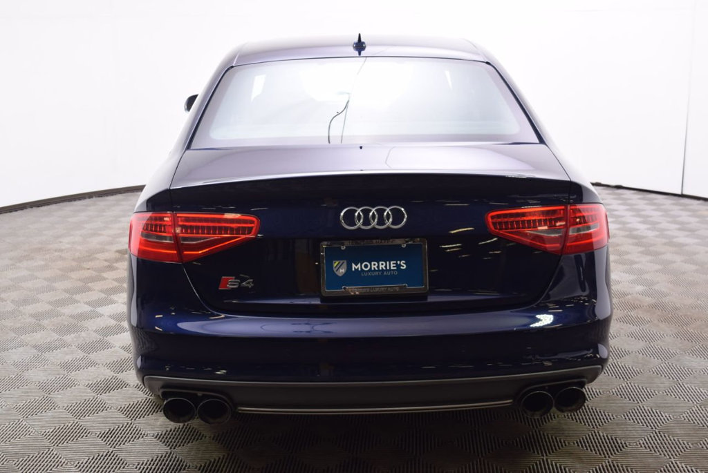 Pre-Owned 2014 Audi S4 4dr Sedan S Tronic Premium Plus
