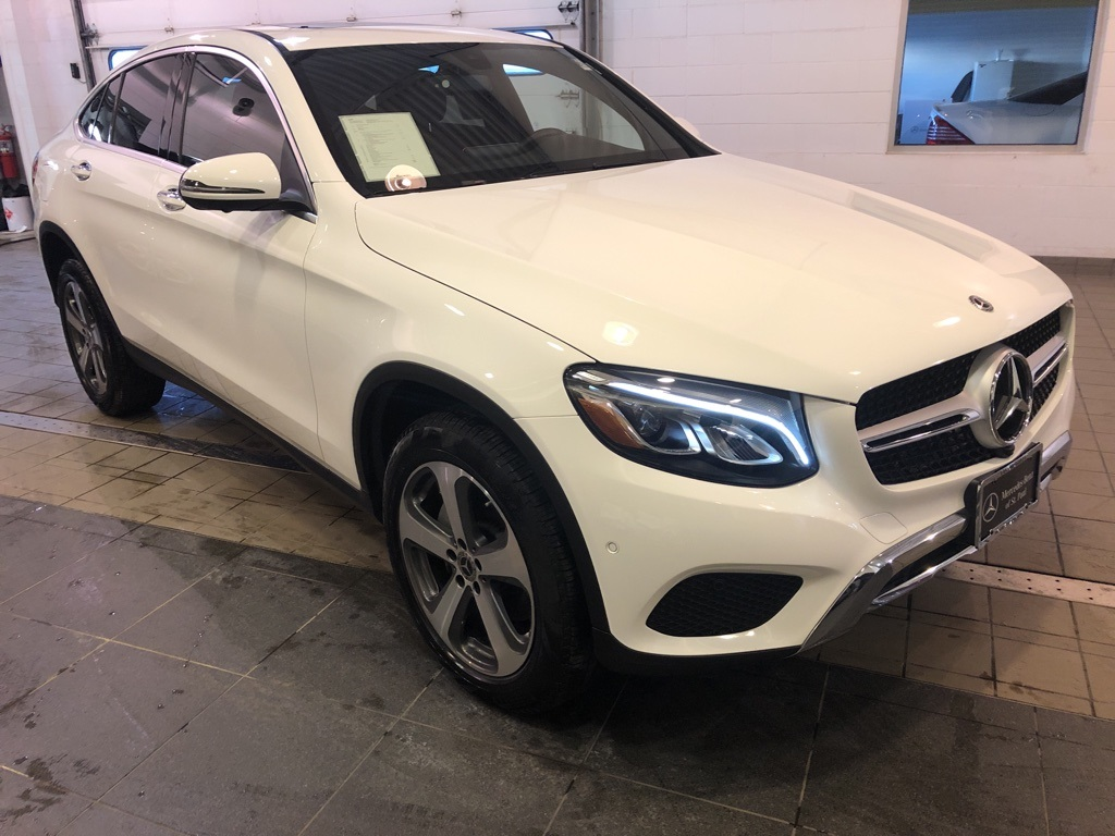 Certified Pre-Owned 2019 Mercedes-Benz GLC GLC 300 Coupe
