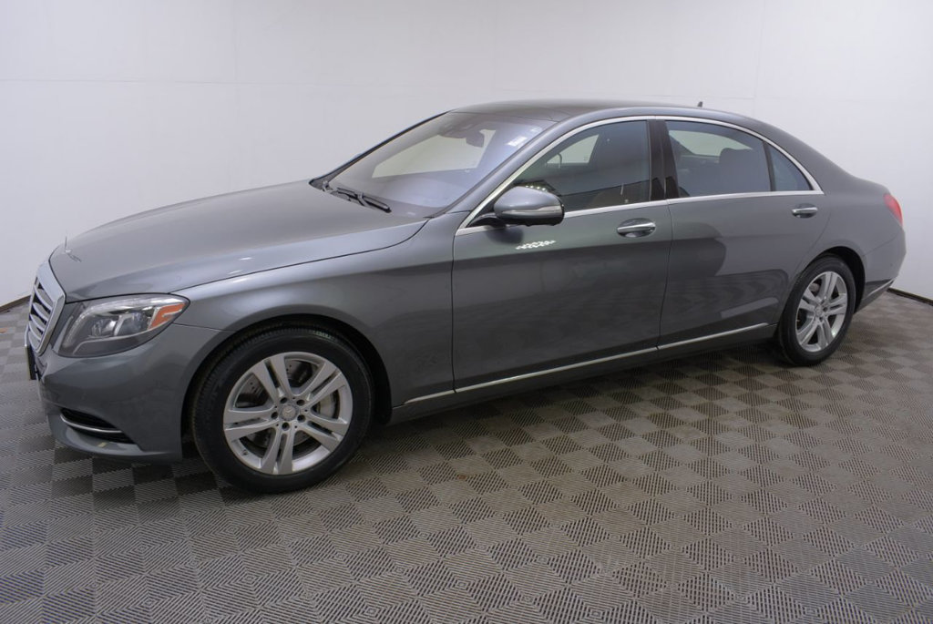 Certified Pre-Owned 2017 Mercedes-Benz S-Class S 550 4MATIC® Sedan