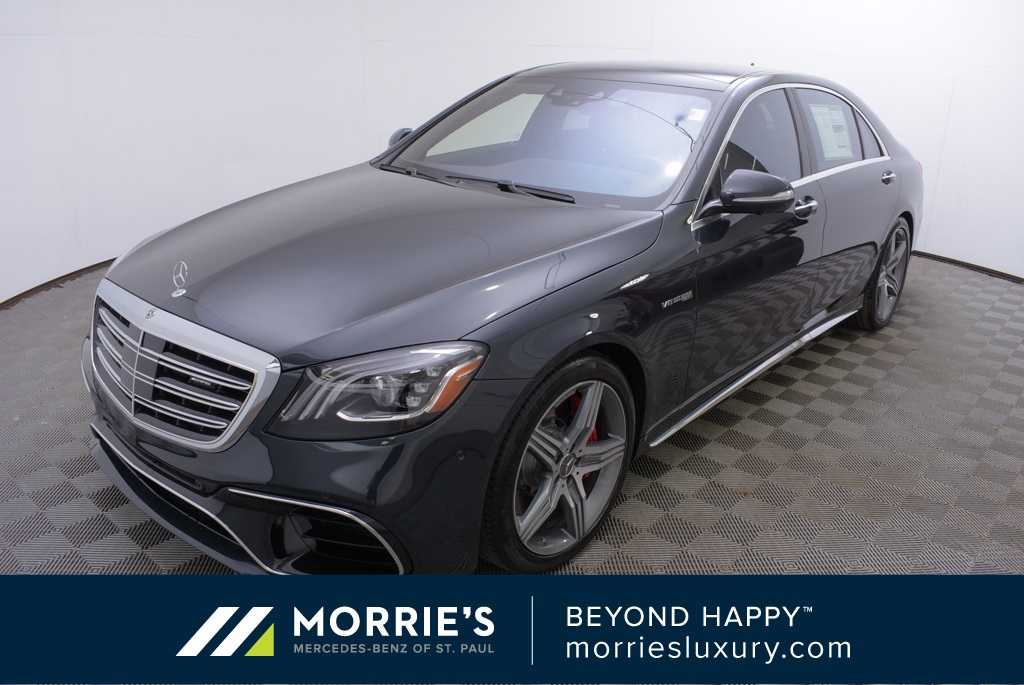 New 2019 Mercedes-Benz S 63 AMG® 4MATIC® 4D Sedan