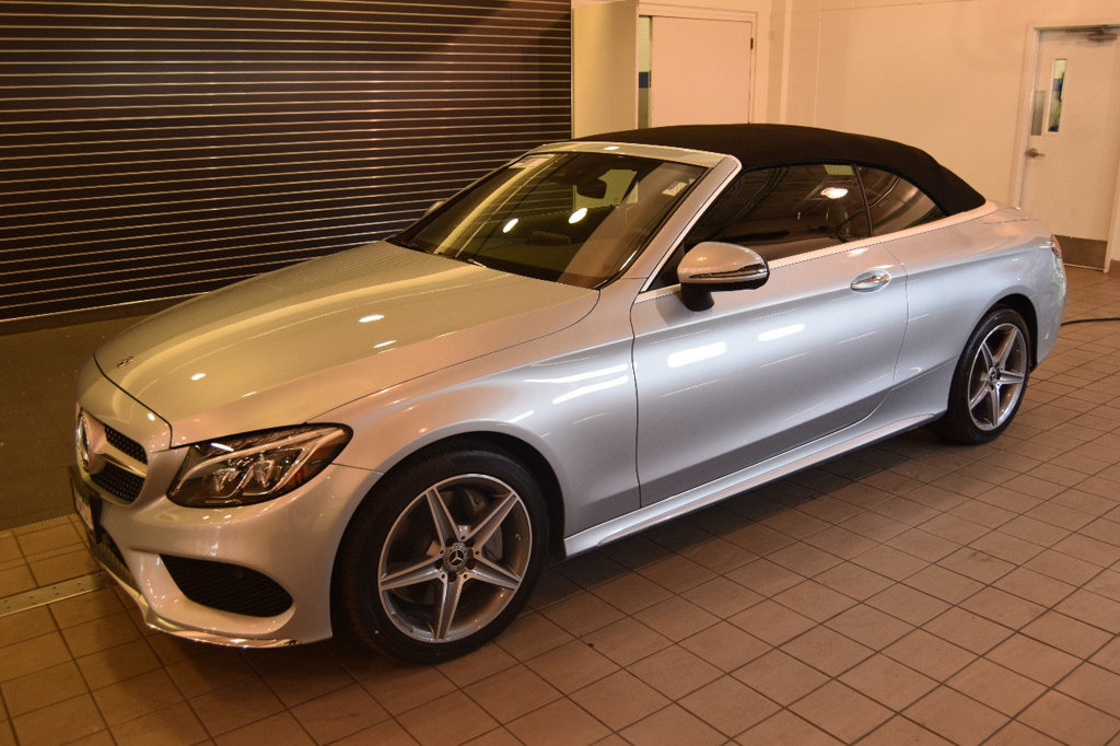 Pre-Owned 2018 Mercedes-Benz C 300 4MATIC® Cabriolet AWD