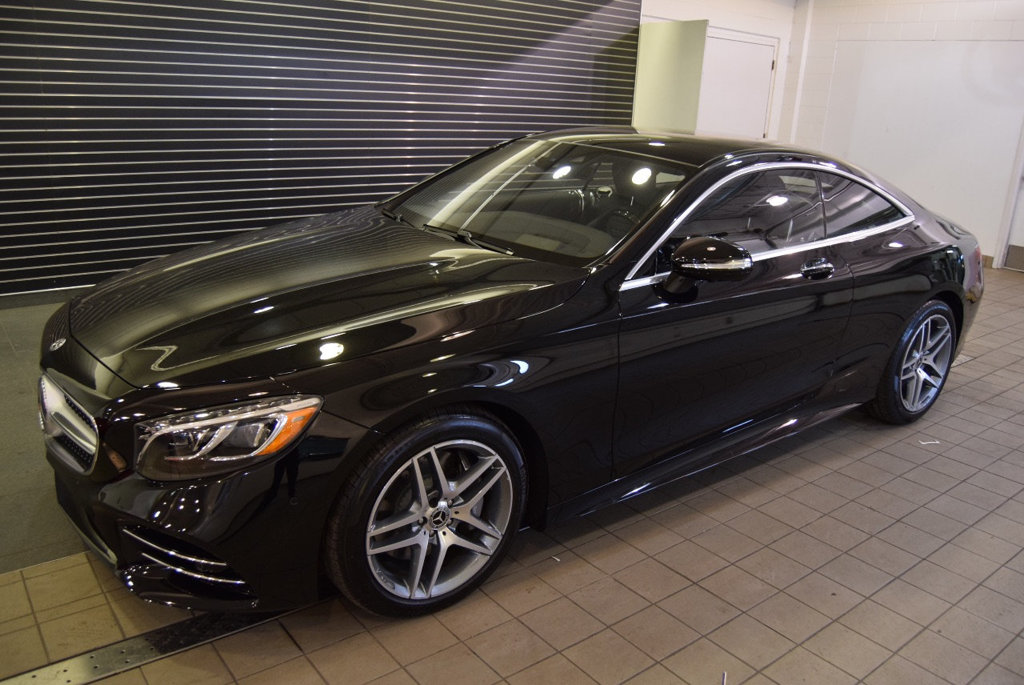 New 2019 Mercedes Benz S Class S 560 4matic Coupe Coupe In