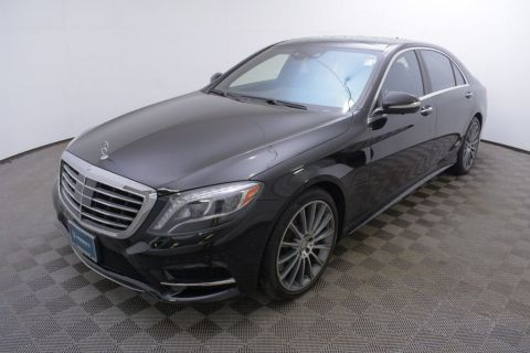 Certified Pre-Owned 2015 Mercedes-Benz S-Class 4dr Sedan S 550 4MATIC®